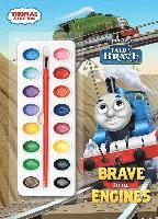 Thomas & Friends: Brave Little Engines [With Paint Brush and Paint] (häftad)