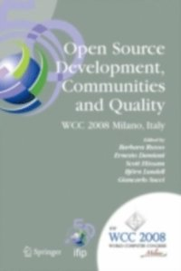 Open Source Development, Communities and Quality (e-bok)