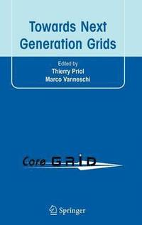 Towards Next Generation Grids (inbunden)