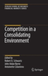 Competition in a Consolidating Environment (e-bok)