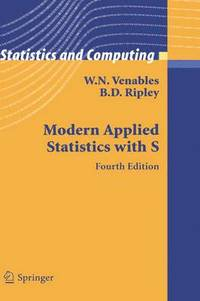 Modern Applied Statistics 4th Edition (häftad)