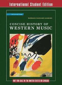 Concise History of Western Music (häftad)