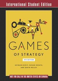 Games of Strategy (häftad)