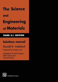The Science and Engineering of Materials: Solutions Manual to 3r.e (häftad)