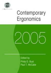 Contemporary Ergonomics 2005 (häftad)