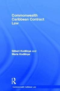 Commonwealth caribbean tort law by gilbert kodilinye