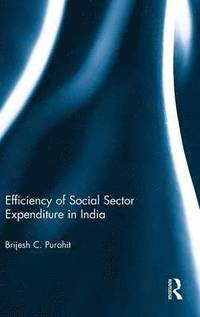 Efficiency of Social Sector Expenditure in India (inbunden)