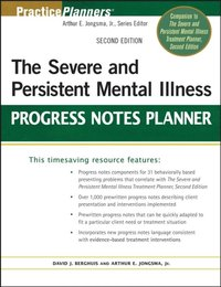 Severe and Persistent Mental Illness Progress Notes Planner (e-bok)