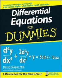 Differential Equations For Dummies (e-bok)