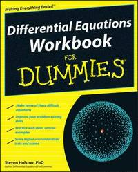 Differential Equations Workbook For Dummies (häftad)