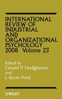International Review of Industrial and Organizational Psychology 2008 (inbunden)
