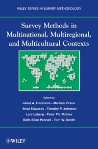 Survey Methods in Multinational, Multiregional, and Multicultural Contexts (e-bok)