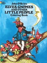 Elves, Gnomes, and Other Little People Coloring Book (häftad)