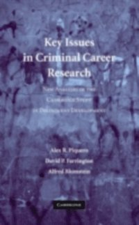 Key Issues in Criminal Career Research (e-bok)