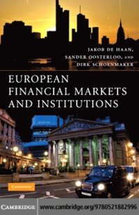 European Financial Markets and Institutions (e-bok)