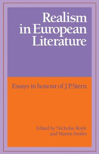 Realism in European Literature (häftad)