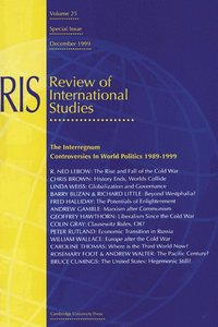 The Interregnum: Controversies in World Politics 1989-1999 (häftad)