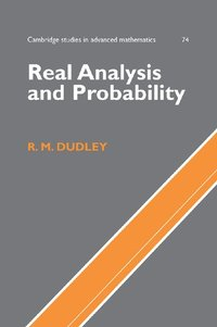 Real Analysis and Probability av R M Dudley (Bok)