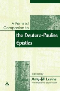 Feminist Companion to Paul (e-bok)