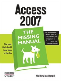Access 2007: The Missing Manual (e-bok)