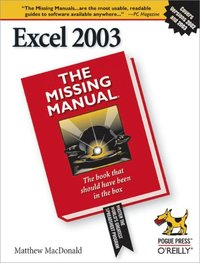 Excel 2003: The Missing Manual (e-bok)