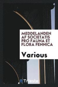 Skopia.it Meddelanden AF Societatis Pro Fauna Et Flora Fennica Image