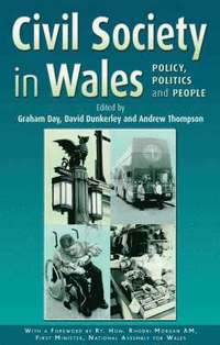 Civil Society in Wales (inbunden)