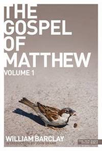 The Gospel of Matthew - volume 1 (häftad)