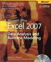 Microsoft Office Excel 2007: Data Analysis & Business Modeling Book/CD Package