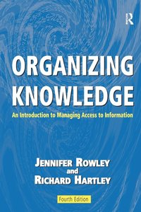Organizing Knowledge (häftad)