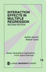 Interaction Effects in Multiple Regression (häftad)