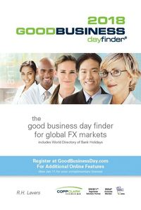 GoodBusiness Day Finder - 2018 edition