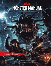 Monster Manual: A Dungeons &; Dragons Core Rulebook (inbunden)