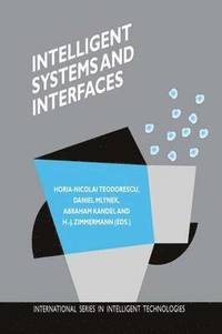 Intelligent Systems and Interfaces (inbunden)