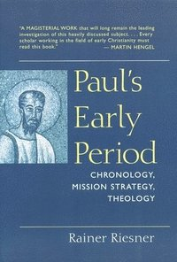 Paul's Early Period (häftad)