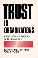 Trust in Organizations (häftad)