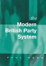 The Modern British Party System (inbunden)