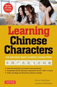 Tuttle Learning Chinese Characters: Volume 1 (häftad)