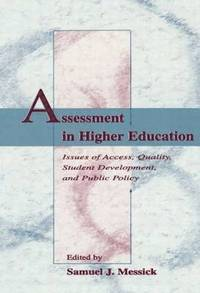 Assessment in Higher Education (inbunden)