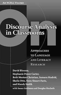 On Discourse Analysis in Classrooms (inbunden)