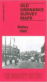 Old Ordnance Survey Maps Staincliffe /& Batley Carr Yorks 1906 Godfrey Edition
