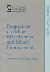 Perspectives on School Effectiveness and School Improvement (häftad)