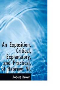 An Exposition, Critical, Explanatory, and Practical of Hebrews VI. (inbunden)