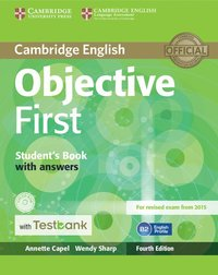 Objective first students book with answers with cd rom