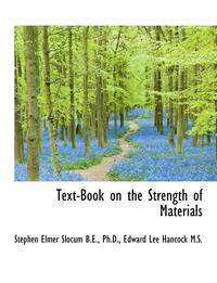 Text-Book on the Strength of Materials (häftad)