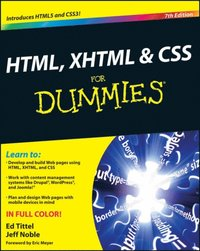 HTML, XHTML and CSS For Dummies (e-bok)