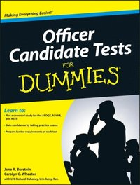 Officer Candidate Tests For Dummies (e-bok)