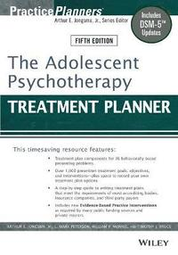 The Adolescent Psychotherapy Treatment Planner (häftad)