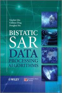 Bistatic SAR Data Processing Algorithms (inbunden)