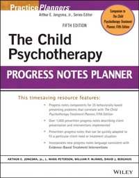 Child Psychotherapy Progress Notes Planner (e-bok)